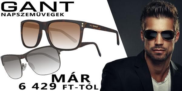 Gant napszemüvegek már 6 429 Ft-tól!