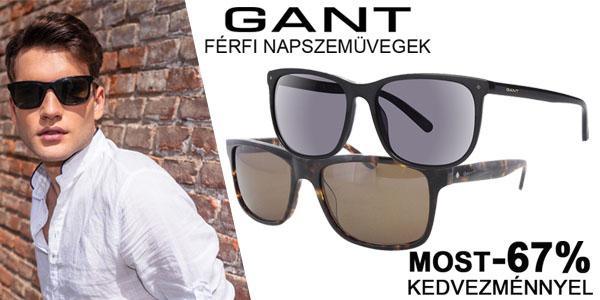 Gant férfi napszemüvegek most -67% kedvezménnyel! bbf504b02a
