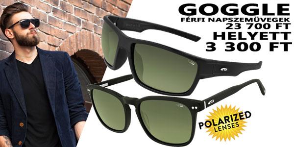 Goggle napszemüvegek 3 300 Ft-ért!