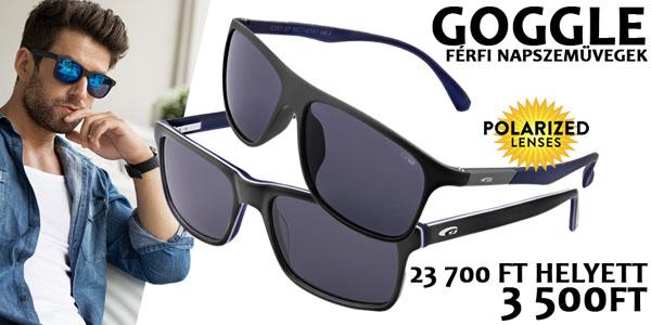 Goggle napszemüvegek 23 700 Ft helyett 3 500 Ft-ért! 3984b886aa