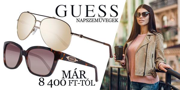 Guess napszemüvegek 8 400 Ft-tól!