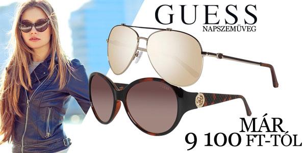 Guess napszemüvegek már 9 100 Ft-tól!