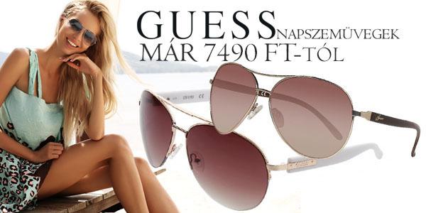 Guess napszemüvegek már 7 490 Ft-tól!