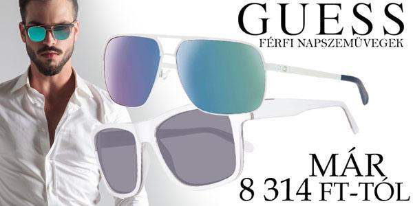 Guess férfi napszemüvegek már 8 314 Ft-tól!