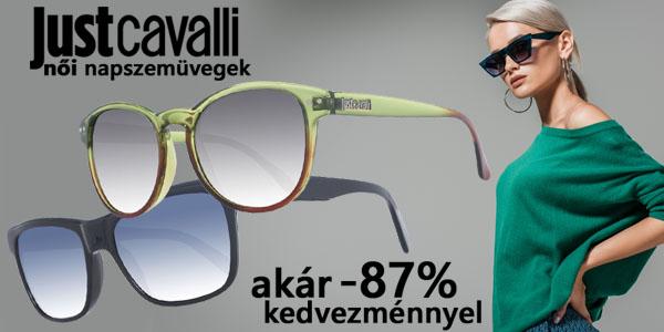 Just Cavalli napszemüvegek akár -87% kedvezménnyel!