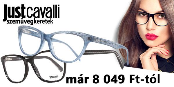 Just Cavalli szemüvegkeretek már 8 049 Ft-tól!