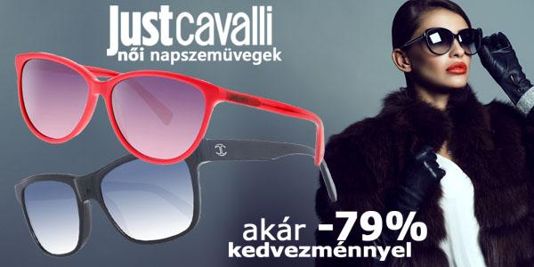 Just Cavalli napszemüvegek akár -79% kedvezménnyel!