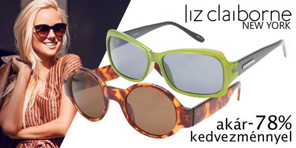 Liz Claiborne New York napszemüvegek akár -78% kedvezménnyel!