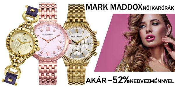 Mark Maddox karórák akár -52% kedvezménnyel!