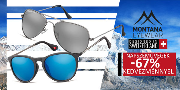 Montana Swiss Design napszemüvegek -67% kedvezménnyel!