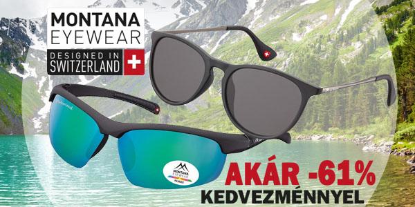 Montana Swiss Design napszemüvegek akár -61% kedvezménnyel!