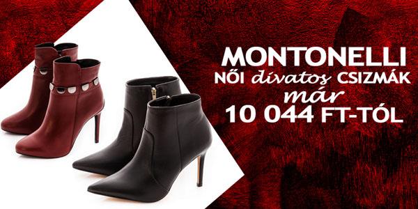 Montonelli csizmák már 10 044 Ft-tól!