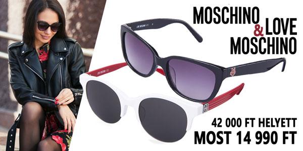 Moschino napszemüvegek 14 990 Ft-ért!