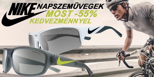Nike napszemüvegek -55% kedvezménnyel!