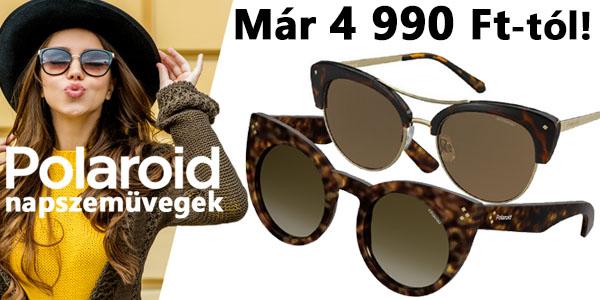 Polaroid napszemüvegek már 4 990 Ft-tól!