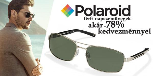Polaroid napszemüvegek akár -78% kedvezménnyel!
