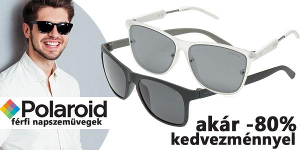 Polaroid férfi napszemüvegek akár -80% kedvezménnyel!