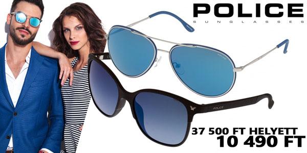 Police napszemüvegek 10 490 Ft-ért!