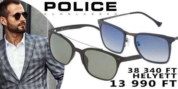Police napszemüvegek 13 990 Ft-ért!