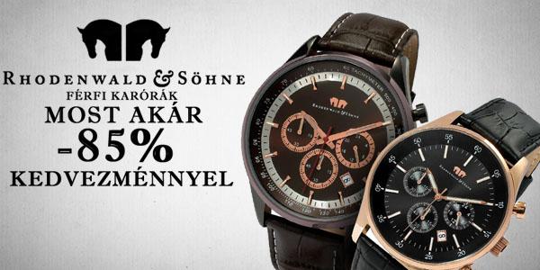 Rhodenwald & Söhne karórák akár -85% kedvezménnyel!