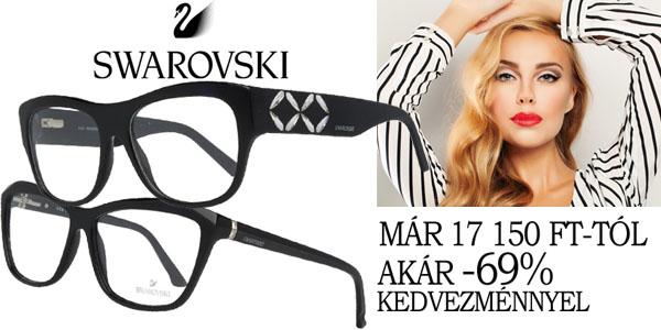 Swarovski szemüvegkeretek már 17 150 Ft-tól!
