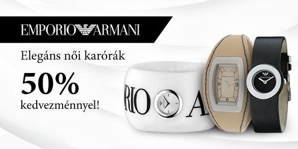 Emporio Armani női karórák