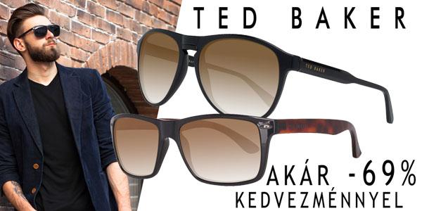 Ted Baker napszemüvegek akár -69% kedvezménnyel!