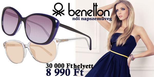 Benetton napszemüvegek -70% kedvezménnyel!