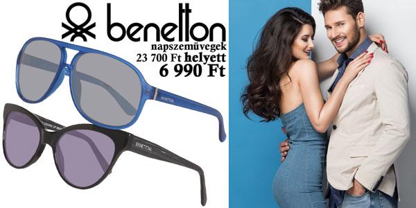Benetton napszemüvegek -71% kedvezménnyel