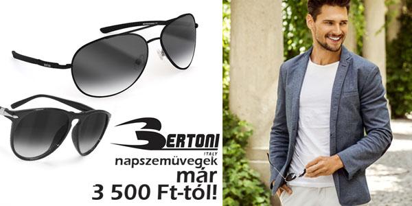 Bertoni napszemüvegek 3 500 Ft-tól!