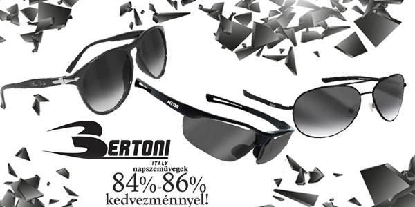 Bertoni napszemüvegek 84-86/ kedvezménnyel