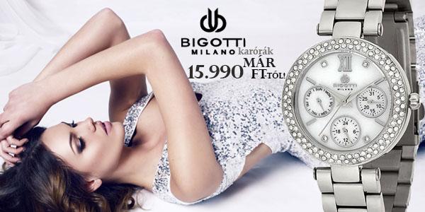 Bigotti Milano női karórák már 15 990 Ft-tól!