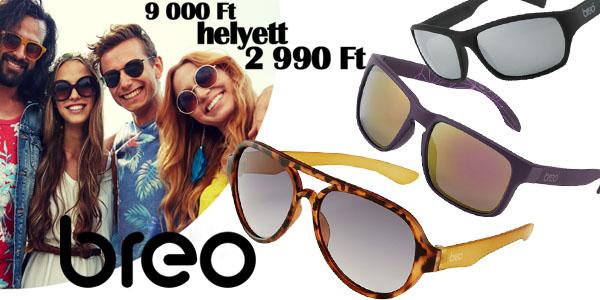 Breo napszemüvegek 2 990 Ft-ért!