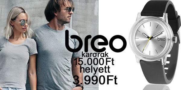 Breo karórák 3 990 Ft-ért!
