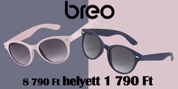 Breo napszemüvegek kedvezményesen!