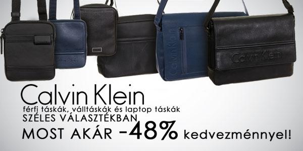 Calvin Klein táskák -48% kedvezménnyel!
