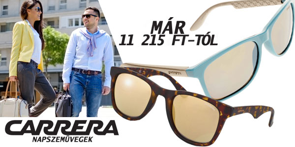 Carrera napszemüvegek 11 215 Ft-tól!