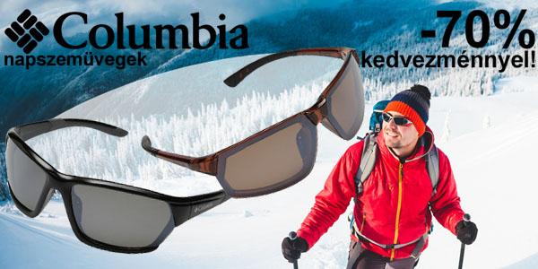 Columbia napszemüvegek -70% kedvezménnyel!
