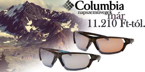 Columbia napszemüvegek már 11 210 Ft-ért!