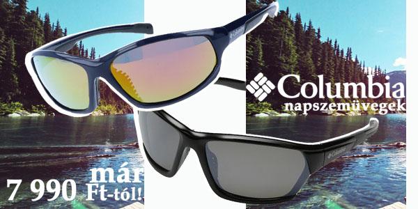 Columbia napszemüvegek már 7 990 Ft-ért!