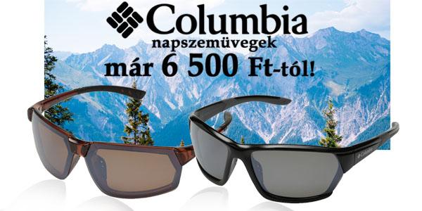 Columbia napszemüvegek 6 500 Ft-tól!
