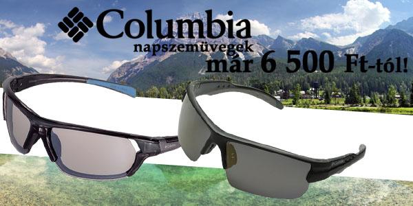 Columbia napszemüvegek már 6 500 Ft-tól!