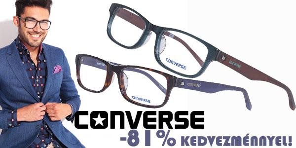 Converse szemüvegkeretek -8% kedvezménnyel!