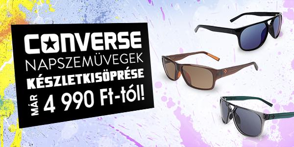Converse napszemüvegek készletkisöprése már 4.990 Ft-tól!