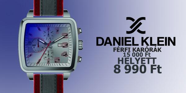 Daniel Klein karórák 8 990 Ft-ért!