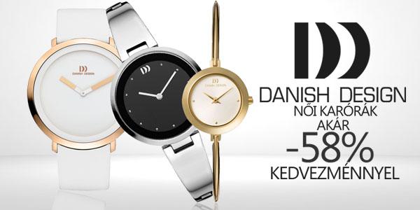 Danish Design női karórák akár -58% kedvezménnyel!