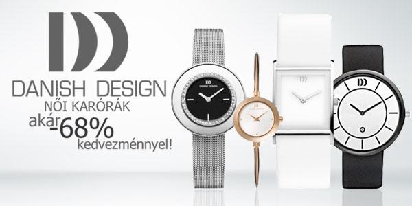 Danish Design női karórák akár -8% kedvezménnyel!
