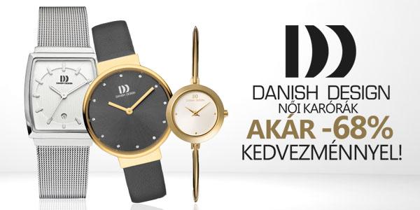 Danish Design karórák akár -68% kedvezménnyel!