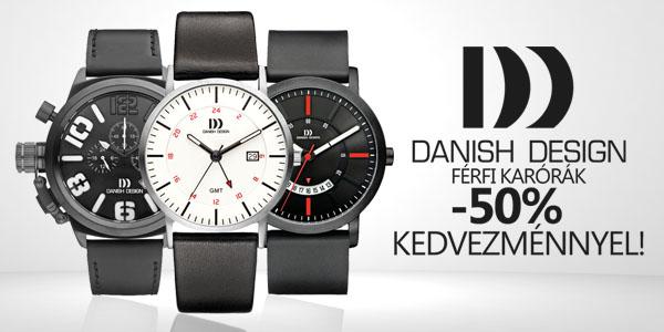Danish Design férfi karórák féláron!