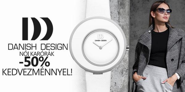 Danish Design női karórák féláron!